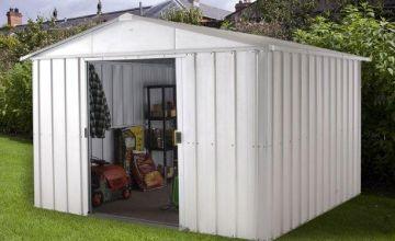 Yardmaster Metal 10 x 13ft Garden Shed
