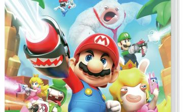 Mario and Rabbids Kingdom Battle Nintendo Switch Game