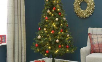 Argos Home 6ft Nordland Pre-Lit Christmas Tree - Green