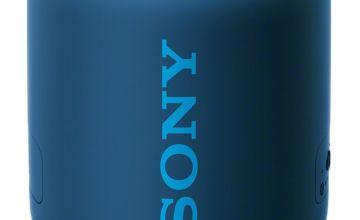 Sony SRS-XB12 Wireless Portable Speaker - Blue