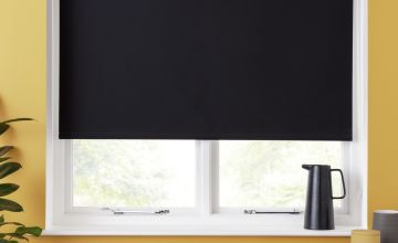 Argos Home Blackout Insulating Roller Blind - Black
