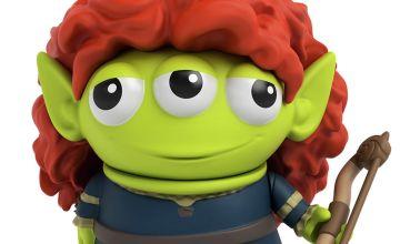 Disney Pixar Alien Dress-Up - Merida Figure