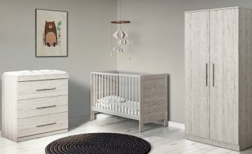 Ickle Bubba Grantham Mini 3 Piece Furniture Set - Grey Oak
