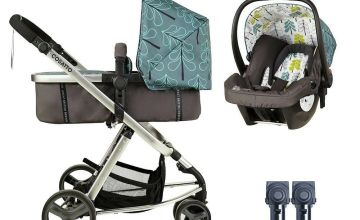 Cosatto Giggle Mix Travel System Bundle - Fjord