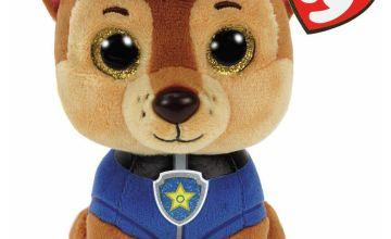 TY PAW Patrol Beanie Boo Soft Toy Assortment