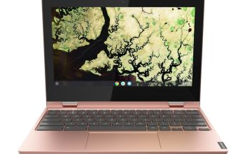 Lenovo C340 11.6in Celeron 4GB 32GB Chromebook - Pink