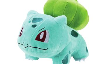 Pokemon 8in Bulbasaur Soft Toy