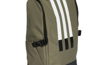 Adidas 3 Stripe Legacy 23.59L Backpack - Green