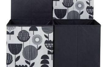 Argos Home Set of 4 Skandi Squares Boxes - Floral
