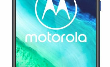 SIM Free Motorola G8 64GB Mobile Phone - Neon Blue