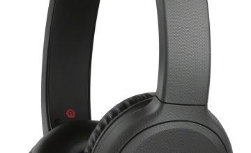 Sony WH-CH510 On-Ear Wireless Headphones - Black