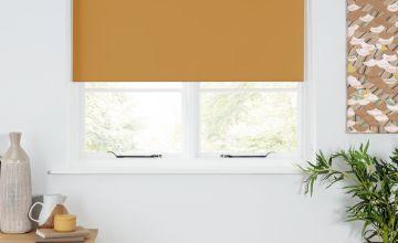 Argos Home Blackout Insulating Roller Blind - Mustard