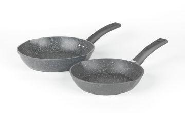 Salter Easypour 2 Piece Frying Pan Set