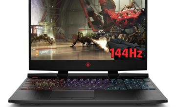 HP Omen 15.6in i5 8GB 1TB 256GB GTX1650 Gaming Laptop