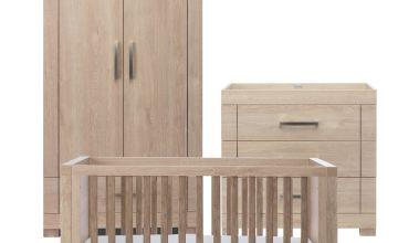 Silver Cross Camberwell 3 Piece Nursery Set - Oak Finish