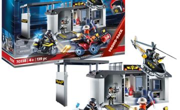 Playmobil 70338 City Action Take Along Police Headquarters