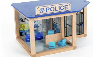 Tidlo Police Station Playset.