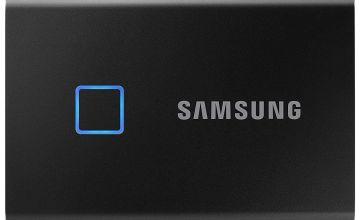 Samsung T7 Touch 1TB Portable SSD Hard Drive - Black
