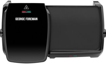 George Foreman Large Variable Temp Grill & Griddle 23450