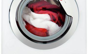 Hoover DXOA 48C3 8KG 1400 Spin Washing Machine - White