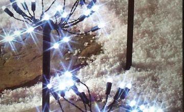 Premier Decorations 0.3m 120 LED Path Lights - White