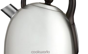 Cookworks Traditional Kettle - Brushed Stainless Steel