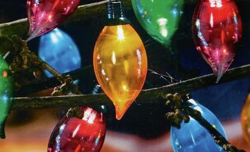 Premier Decorations Set of 40 Flame Lights - Multicoloured