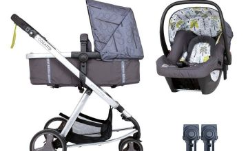 Cosatto Giggle Mix Travel System Bundle - Fika Forest