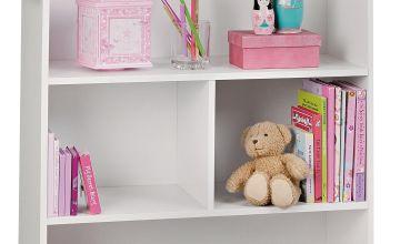 Argos Home Mia White Dolls House Bookcase