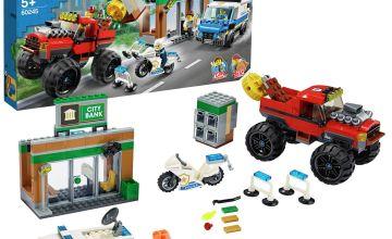 LEGO City Police Monster Truck Heist Building Set - 60245