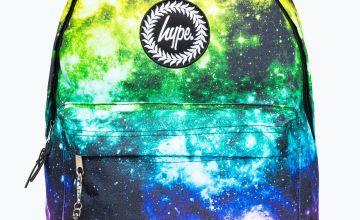 Hype Rainbow Space Backpack