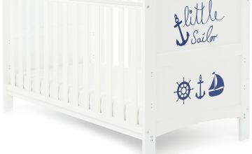 Obaby Grace Inspire Baby Cot Bed - Little Sailor