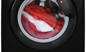Hoover DXOA 68LB3B 8KG 1600 Spin Washing Machine - Black