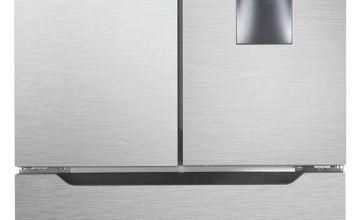 Hisense RF528N4WC1 American Fridge Freezer - Stainless Steel