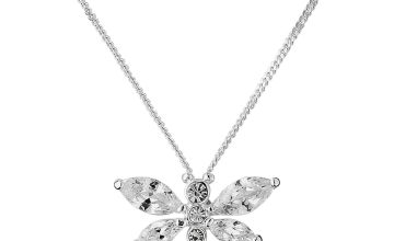 Revere Silver Dragonfly Pendant Necklace  Pendant Necklace