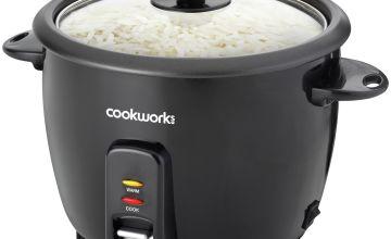 Cookworks 1.5L Rice Cooker - Black