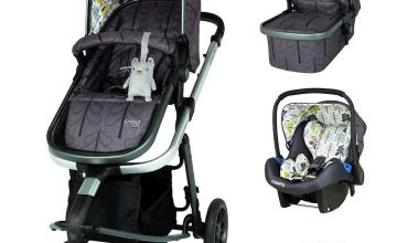 Cosatto Giggle 3 Travel System Bundle - Fika Forest