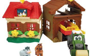 Chad Valley Happy Farm House Playset