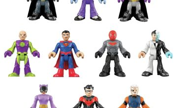 Imaginext DC Super Friends 10 Figure Pack including Batman