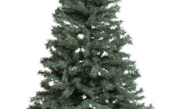 Argos Home 6ft Snowy Mixed Frost Christmas Tree - Green