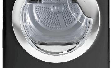 Hoover DCX 9TCEB 9KG Condenser Tumble Dryer - Black