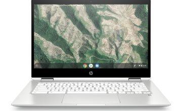 HP x360 14in Pentium Silver 4GB 64GB FHD Chromebook