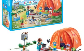 Playmobil 70089 Tent with Camping Accessories