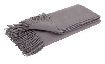 Argos Home Soft Touch Throw - 125x150cm - Grey
