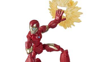 Marvel Avengers Bend And Flex Iron Man