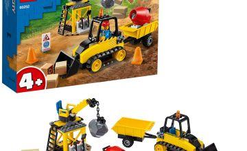 LEGO City 4+ Vehicles Construction Bulldozer Set - 60252