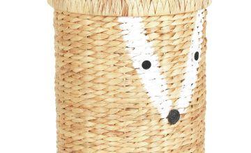 Argos Home Fox Water Hyacinth Laundry Basket