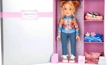 Designafriend Willow Doll with 3 Extra Outfits- 18inch/45cm
