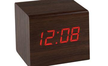Precisions Wooden Alarm Clock