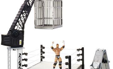 WWE Crash Cage Playset with Figure